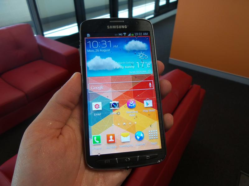 Hands-on with the Samsung Galaxy S4 Active