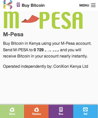 In Kenya, Bitcoin linked to popular mobile payment system