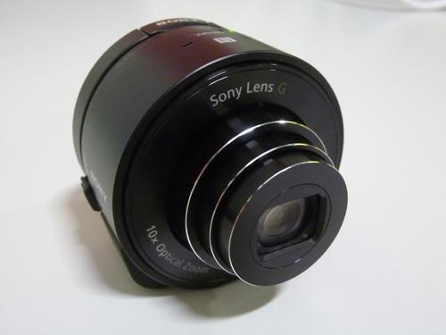 Hands on with Sony's QX10 lens camera
