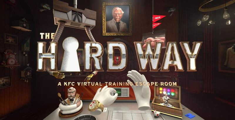 KFC's virtual reality training