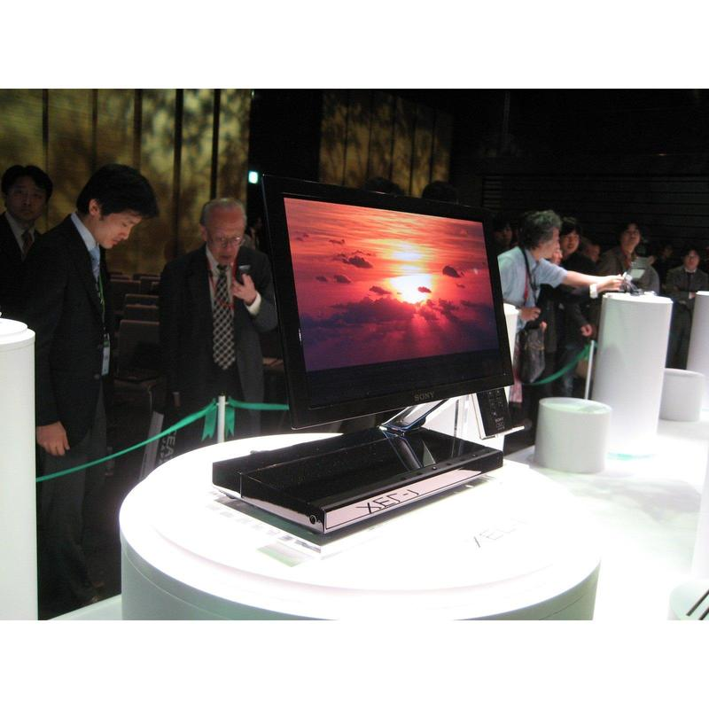 In Pictures: Sony's first OLED television