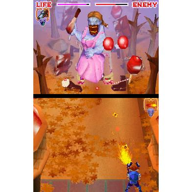 A post-modern deconstruction of a classic fairy tale (on the Nintendo DS, with zombies)