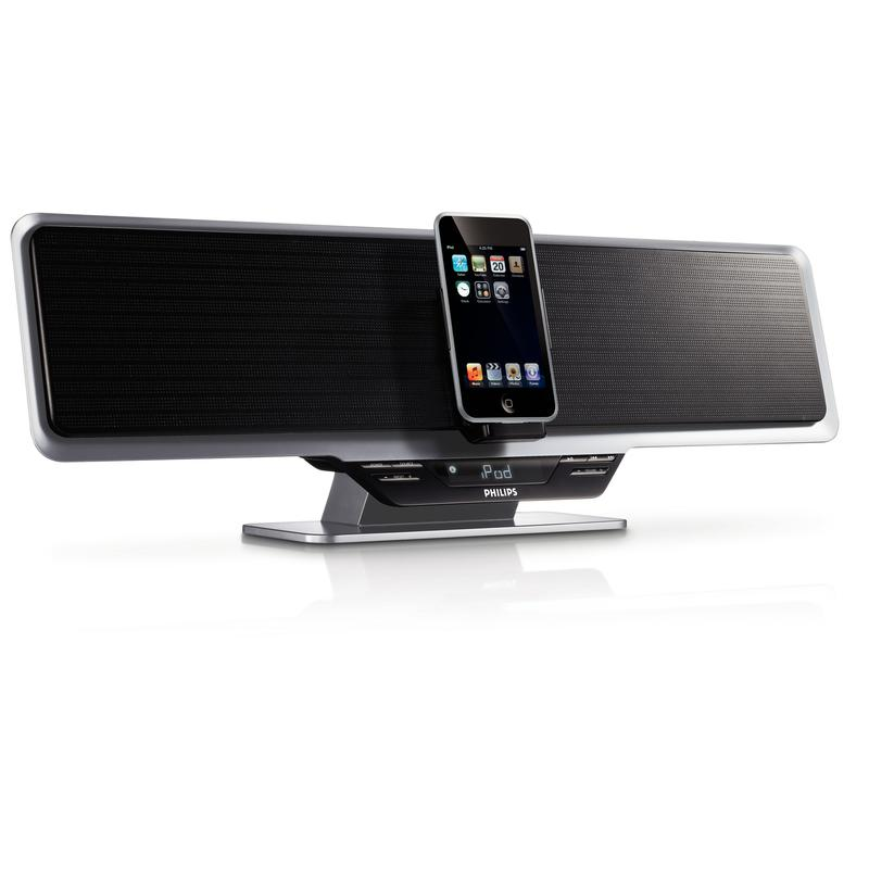 Feel the beat with Philips' latest docking systems