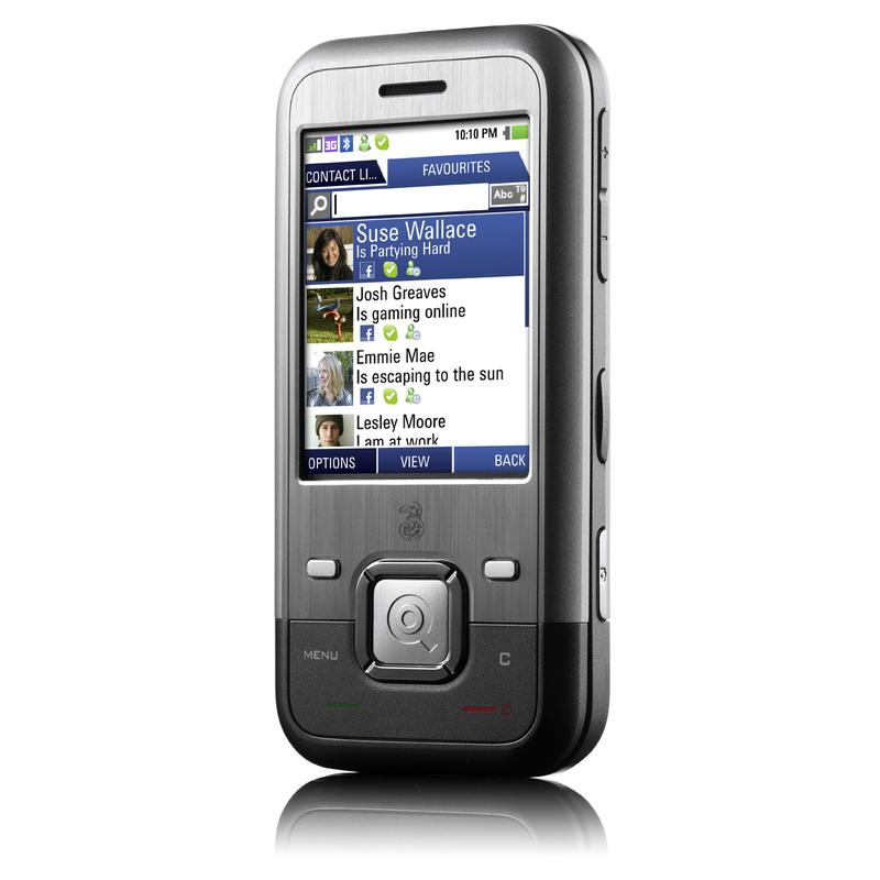3 Mobile's Facebook-friendly INQ1