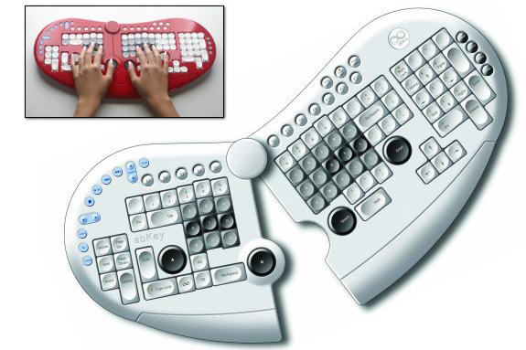 The world's weirdest keyboards!