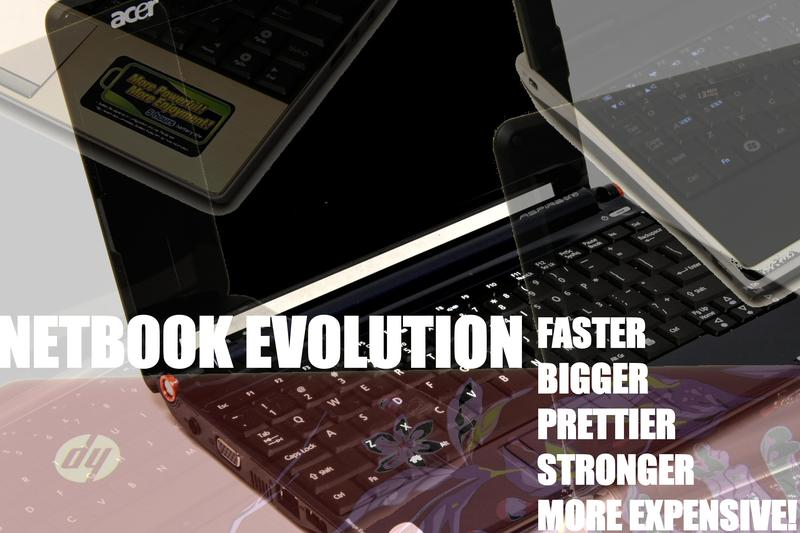 The evolution of the netbook