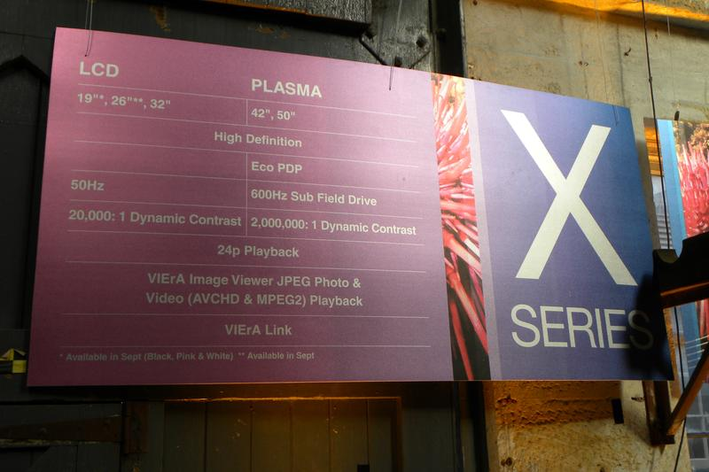 Panasonic unveils plasma and LCD HD televisions for 2009