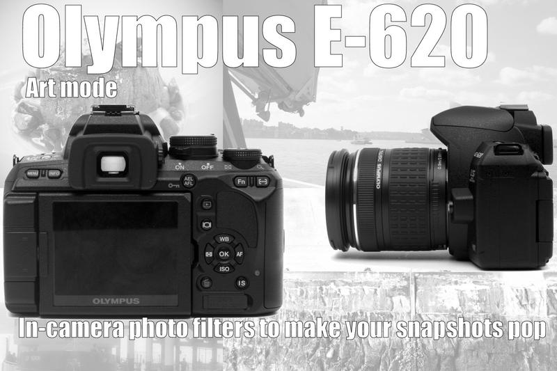 Olympus E-620 digital SLR turns your photos into art