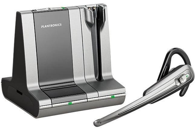 Plantronics launches new wireless headsets at CeBIT