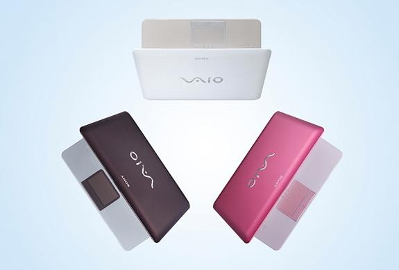 In pictures: Sony's new Vaio W netbook