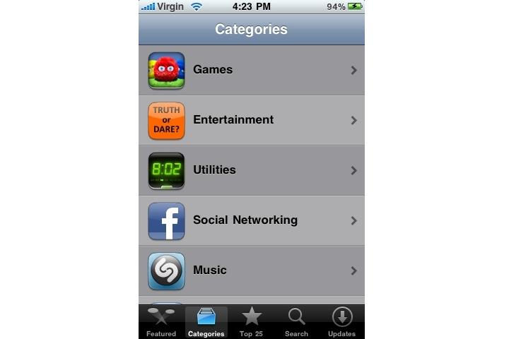 In pictures: Smartphone app store comparison