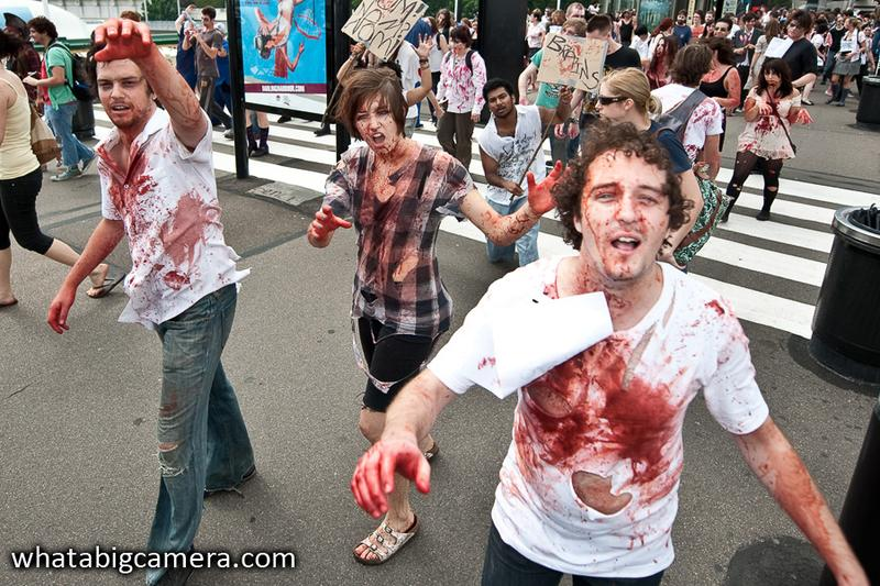 In Pictures: Zombie gamers re-infest Sydney
