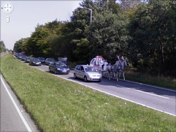 Google Street View Funny ... or Disaster?