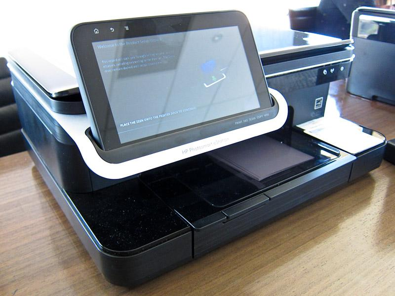 HP launches inkjet printer with integrated 7in Android tablet
