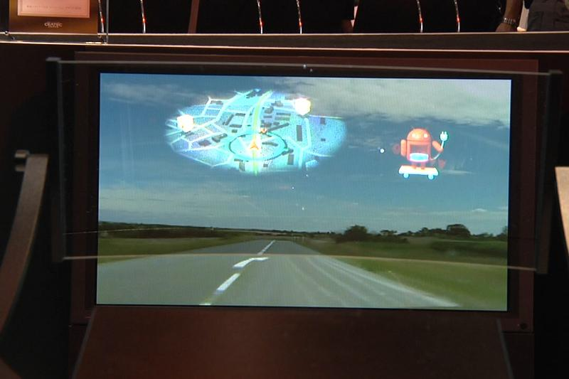 Pioneer preps laser head-up display for 2012