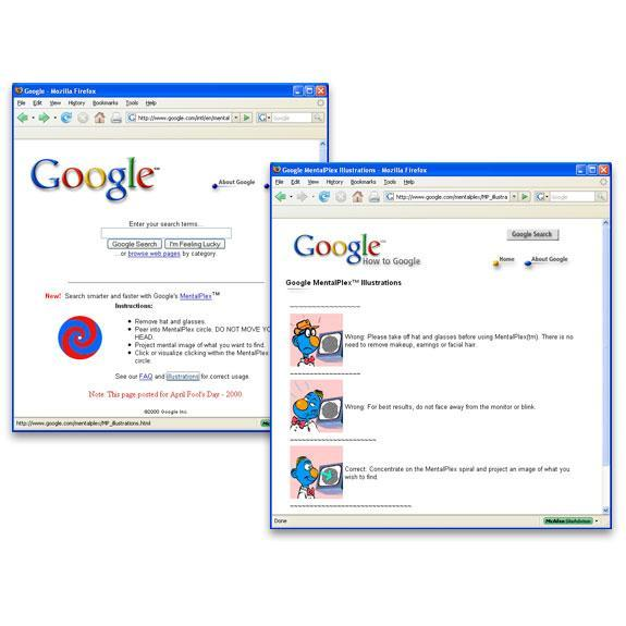 Google's Top 17 Easter Eggs, Gags, and Hoaxes
