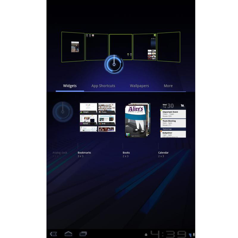 Android 3.0 tablet: Five key features