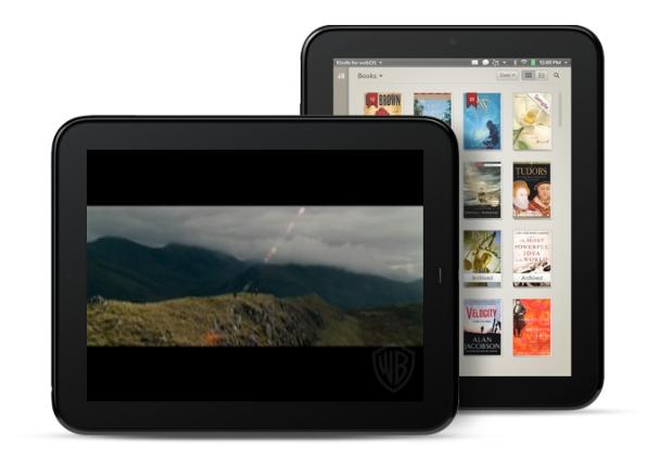 HP launches first run at the tablet market