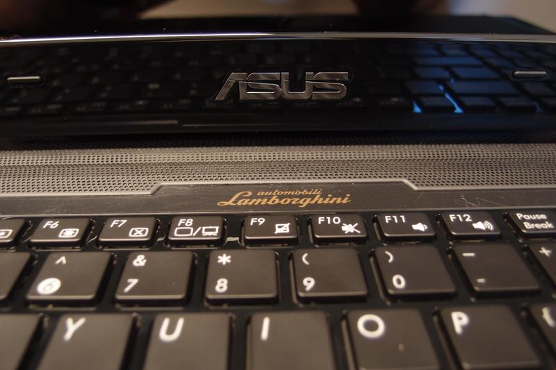 Detailed pictures of the new ASUS Lamborghini VX7