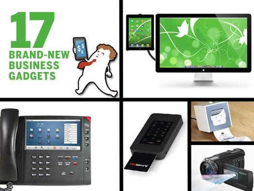 In Pictures: 17 brand-new business gadgets