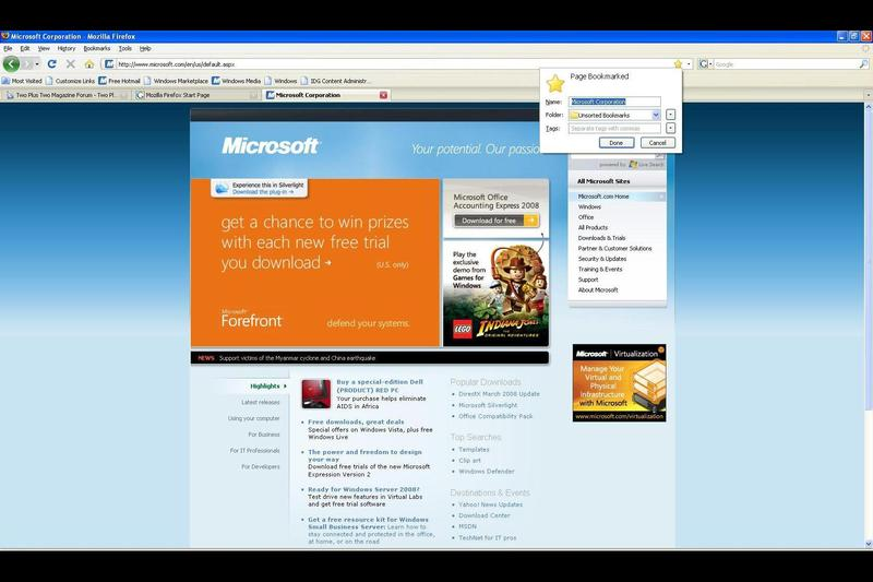 In pictures: First impressions of Firefox 3 RC 1