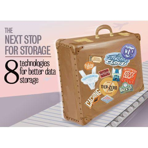 Eight technologies for better data storage
