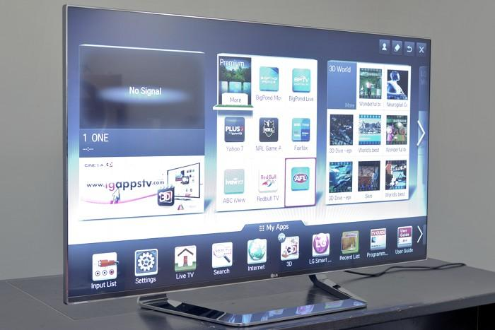 In pictures: LG LM9600 LED TV
