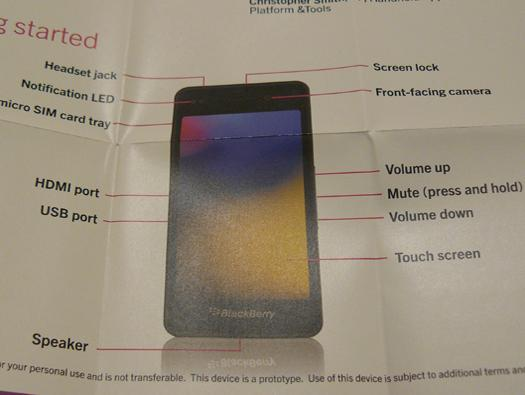 In Pictures: A closer look at RIM's BlackBerry 10 Dev Alpha smartphone