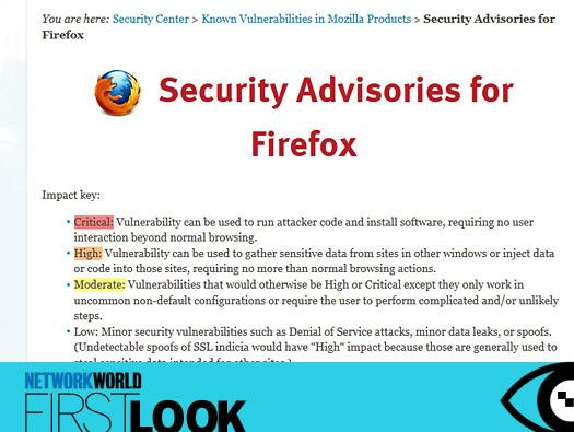 In Pictures: First look, Firefox 14