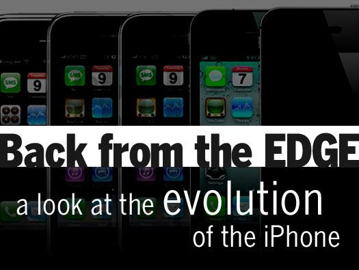 In Pictures: Back from the EDGE - a look at the evolution of the iPhone