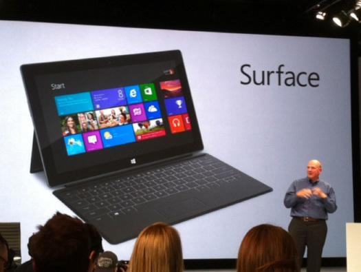 In Pictures: First look - Surface RT