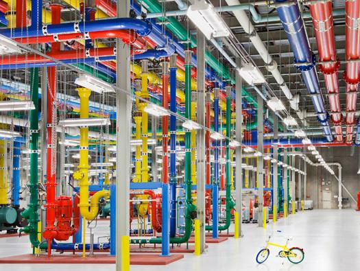 In Pictures: Google's giant datacentres – an inside look