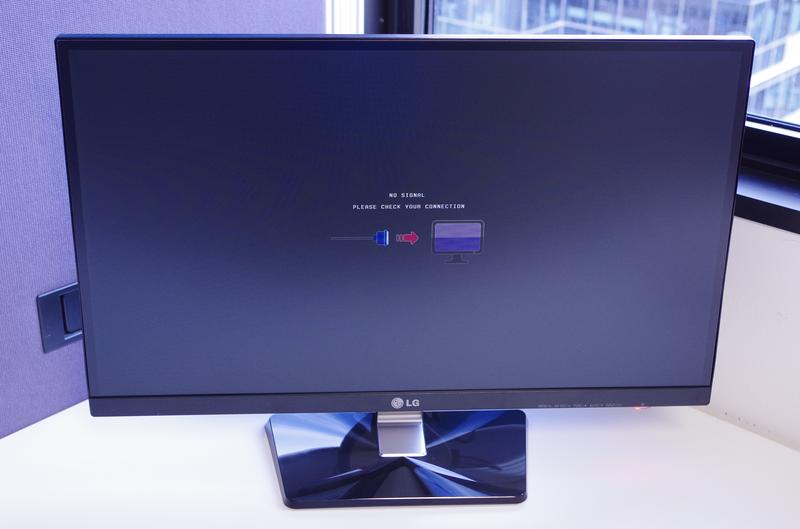 In Pictures: unboxing LG's IPS7 monitor