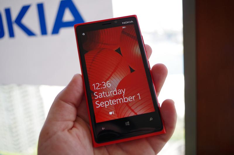 In pictures: Windows Phone 8 handsets