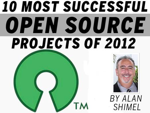 In Pictures: 10 most successful open source projects of 2012