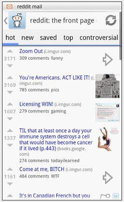 In Pictures: What's the best free Reddit app for Android?