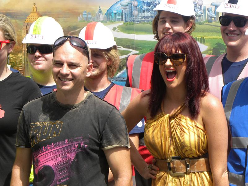 """IN PICTURES: EA hosts SimCity """"bio-dome"""" in Sydney"""