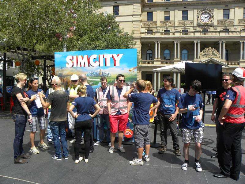 "IN PICTURES: EA hosts SimCity ""bio-dome"" in Sydney"