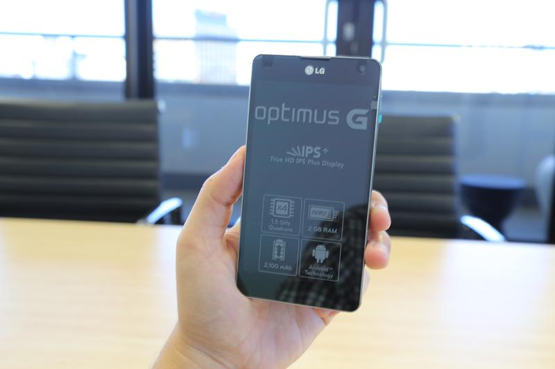 Hands-on with the LG Optimus G