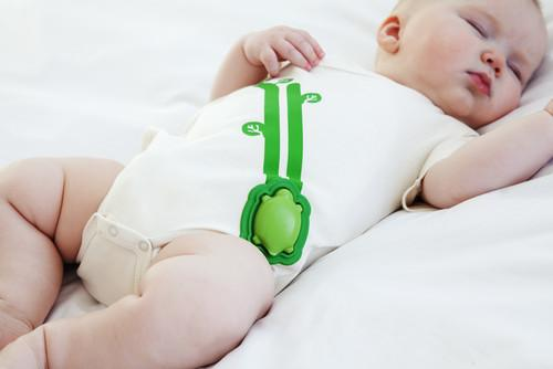 Connected clothing can tell how soundly your baby is sleeping