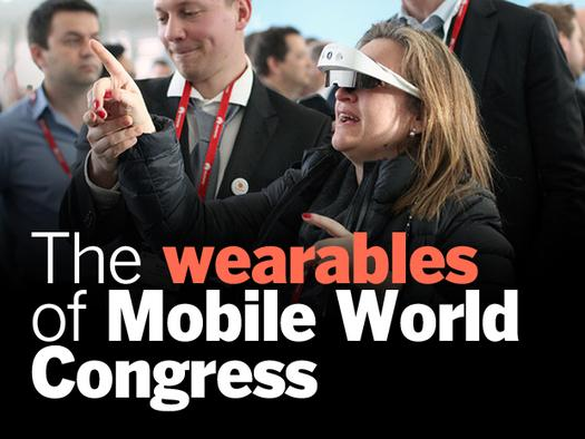 In Pictures: The wearables of Mobile World Congress.