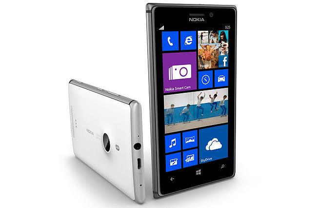 The aluminium-framed Lumia 925 looks completely different to its predecessor.