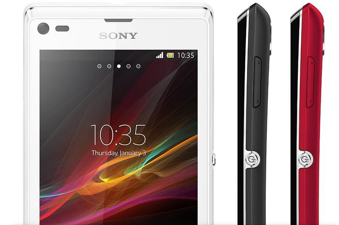 The Xperia L will be available in black, red and white variants.