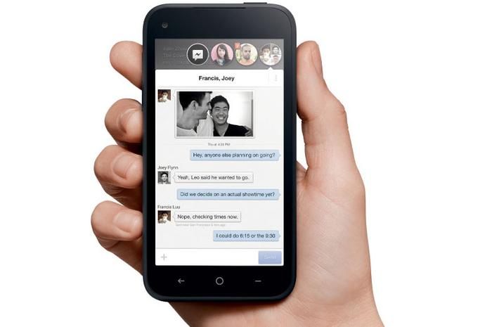 Facebook Home has a heavy emphasis on messaging.
