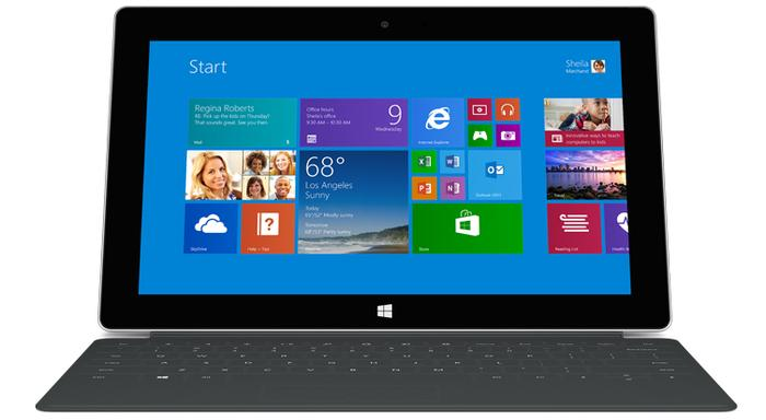 "Microsoft says it didn't try to ""reinvent the wheel"" with the Surface 2, only improve it."