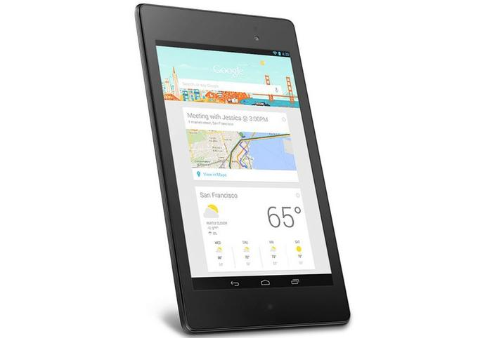 The new Nexus 7 is the first device to run the latest version of Android, 4.3 Jelly Bean.