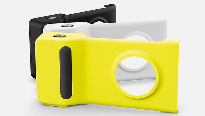 The Nokia Camera Grip accessory for the Lumia 1020 will retail for $89.95.
