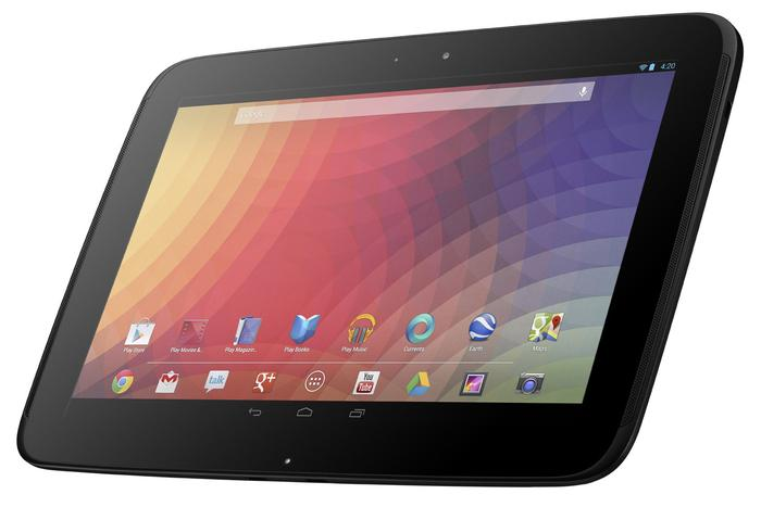 Google's Nexus 11 is expected to be the replacement for the current Nexus 10 (pictured).