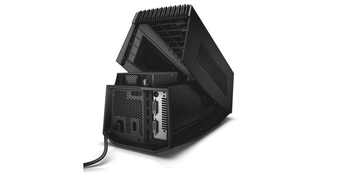 It can accommodate a full-sized, high-end desktop graphics card.
