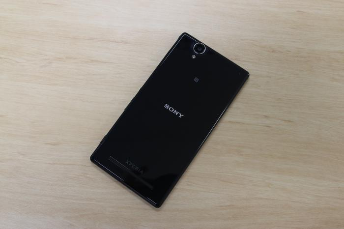 Photos feature the single-SIM version of the T2 Ultra. Sony is sending us a dual-SIM version